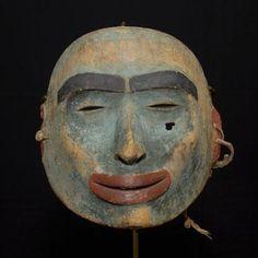 The Louis Shotridge Collection - Objects Native Art, Native American Art, Japanese Noh Mask, Opera Mask, Tlingit, Masks Art, Halloween Masks, First Nations, Tribal Art