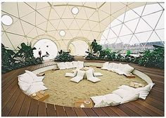 live at the beach. I love geodesic domes!