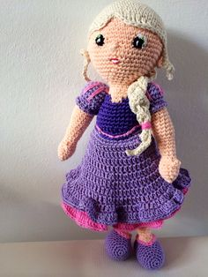 Crochet doll little milo