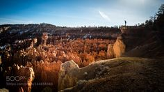 On the edge - Bryce Canyon United States - Color street photography by pixael