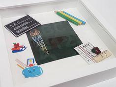 Weiteres - Einschulung - Bilderrahmen für Mädchen und Jungen - ein Designerstück von WitchPlease bei DaWanda