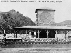 Burleigh Tunnel Depot, Silver Plume, Colo. :: Western History