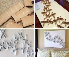 ΚΑΤΑΣΚΕΥΕΣ: Διακοσμητικά αντικείμενα από ΡΟΛΟ χαρτιού | ΣΟΥΛΟΥΠΩΣΕ ΤΟ Rolled Paper Art, Things To Do, Crafty, Blog, Diy, Accessories, Toilet Paper Rolls, Storage Crates, Craft