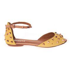 Rasteira Trend Party - Schutz - Schutz Shoes Flats Sandals, Cute Sandals, Espadrille Shoes, Flat Sandals, Espadrilles, Heels, Shoe Closet, Shoe Bag, Womens Flats