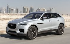 The Jaguar C-X17 concept car previews a new SUV model that's expected to be launched in 2016. #Cars #Auto