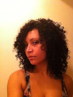 big curly hair - Brunette, 3b, 3c, Medium hair styles, Long hair styles, Readers, Styles, Female, Curly hair, Teen hair, Black hair, Adult hair, Layered hairstyles, Natural Hair Celebration Hairstyle Picture