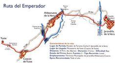 Ruta del Emperador, de Jarandilla de la Vera al Monasterio de Yuste Hiking, Trekking, Emperor, Paths
