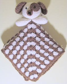 Puppy Lovey PDF Crochet Pattern INSTANT DOWNLOAD by HGSDesigns, $3.50