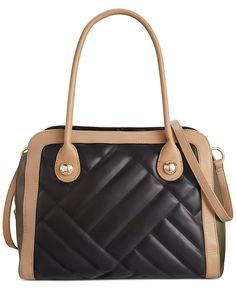 Tommy Hilfiger Alissa Colorblock Large Satchel - Tommy Hilfiger - Handbags & Accessories - Macy's