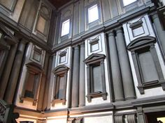 A genius created the architectural masterpiece we know as the Laurentian Library in Florence. His name is Michelangelo