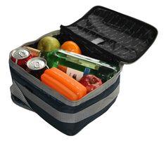 Howards Storage World | Fridge To Go Lunch Bag - Mini Fridge12 - Black