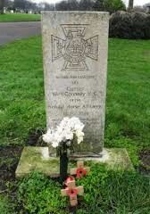 William Connelly VC gravestone in Liverpool. He won his VC during the Indian Mutiny