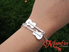 IF I STAY Guitar and Cello Bracelet – Moonfire Charms