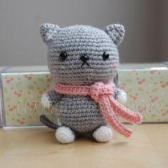 Kitty Gurumi Crochet Pattern par LuvlyGurumi sur Etsy