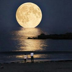 witnessed a supermoon (not the view in this picture!) a few years back . . . truly spectacular