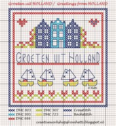 Creative Workshops from Hetti: Groeten uit Holland / Greetings from Holland!