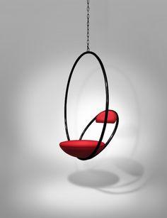 Hanging Hoop Chair | #LeeBroom #Design