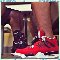 Air Jordan IV Retro Toro Bravo #sneakers #jordan #airjordan
