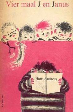 Vier maal J en Janus. Het kinderboekenweekgeschenk 1963 voor de negende kinderbokeenweek in Nederland. Hans Andreus schreef de tekst en Babs van Wely maakte de tekeningen.