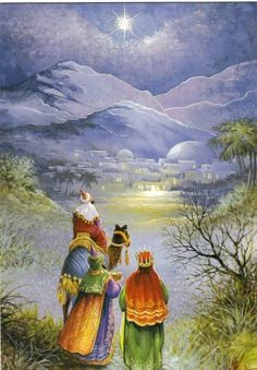 Three Kings on the journey
