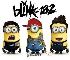 bLink-182 minions.... LOVE!!!