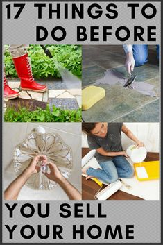 Ready to Sell? 17 Things to Do First If you're ready to sell your home, there's a long list of tasks you should complete first to increase your chances of a quick sale. Check off these 17 to-dos to ensure that every potential buyer feels at home. Home Improvement Loans, Home Improvement Projects, Home Projects, Sell Your House Fast, Selling Your House, Sell House Quickly, Sell Home Fast, Home Renovation, Home Remodeling