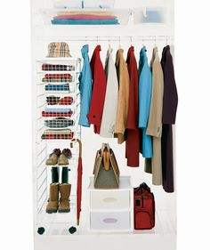Create Groupings | Itu0027s Time To Tackle Your Messy, Cluttered Closet. Here,  We