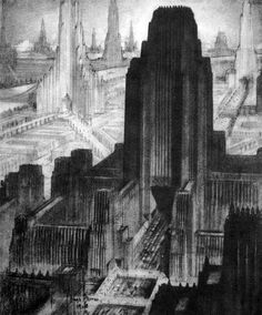 Retro-Futurism 5: Dreams of the Metropolis | HISTORIES OF THINGS TO COME