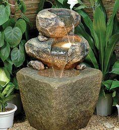Fountain idea.