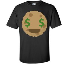 Cookie Emoji Money Face T-ShirtFind out more at https://www.itee.shop/products/cookie-emoji-money-face-t-shirt-custom-ultra-cotton-6025 #tee #tshirt #named tshirt #hobbie tshirts #Cookie Emoji Money Face T-Shirt