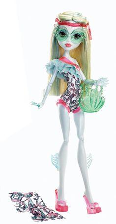 Monster High Beach Beasties Lagoona Blue Doll