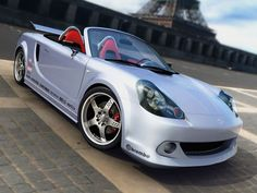 2005 Toyota MR2 Turbo Spyder could someday re-emerge with Synergy Hybrid Drive.