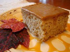 Mennonite Girls Can Cook: Maple Fudge Sour Cream Cake