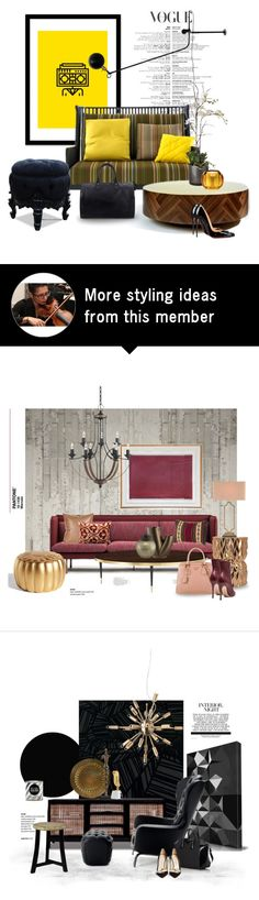 """Elizabeth..."" by gloriettequartet on Polyvore featuring interior, interiors, interior design, ev, home decor, interior decorating, Curioos, Ligne Roset, Sia ve Kartell"