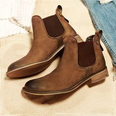 Steve Madden Booties - The perfect cold weather accessory! | #Hollister