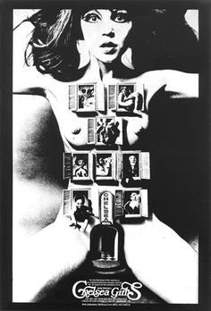 warhol's chealsea girls poster by alan aldridge. i have this and i LOVE it. makes the room!