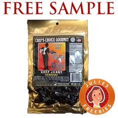 Free Sample Chef�s Choice Beef Jerky