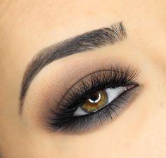 cool 50 Идей, как сделать смоки айс для карих глаз — Пошаговое фото макияжа