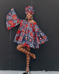 African Attire Dresses for Young Ladies : Ankara Styles African Fashion Ankara, African Inspired Fashion, Latest African Fashion Dresses, African Print Dresses, African Print Fashion, African Dress, Ankara Dress, African Prints, Ankara Stil