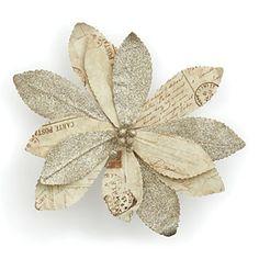 Bloomingdale's Paper Poinsettia | Bloomingdale's