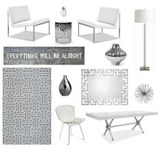 Monochromatic Office | Project Décor  #dotsPintoWin