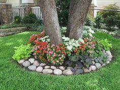 Garden Yard Ideas, Backyard Garden Design, Small Backyard Landscaping, Small Garden Design, Landscaping With Rocks, Lawn And Garden, Garden Projects, Landscaping Ideas, Outdoor Plants