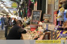 O tradicional French Market de #NewOrleans #Viagem #EUA #MauOscar