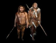 Human and Neanderthal populations overlapped at least twice in their history  Some previous estimates had placed the first interspecies liaison much earlier, before the emergence of these features. The new DNA sequence shows it actually happened in the middle of an age called the Initial Upper Palaeolithic, when there was an explosion of modern human culture.