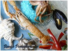 In Risotto, Shrimp, Fish, See Through, Ichthys