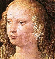 """""""""""La pintura es poesía muda; la poesía, pintura ciega"""". Leonardo Da Vinci"""" Annunciation detail"""