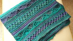 March trends - purples & more by Kiri Thompson on Etsy Hand Knit Scarf, Lace Scarf, Triangle Scarf, Green Gifts, Christmas Knitting, New Baby Gifts, Blue Lace, Hand Knitting, Year 2016
