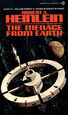 The Menace From Earth (1979) cover by Vincent Di Fate