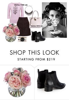 """""""Zarina style #14"""" by lailamur on Polyvore featuring Prim Rose, Diane James, Urban Outfitters, Acne Studios, women's clothing, women, female, woman, misses and juniors"""