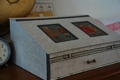workshopの作品 オーバルトレイの画像 | Atelier Muguet - Cartonnage-